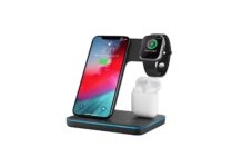 3 in 1 Wireless Charger, Torteco Wireless Charge Stand