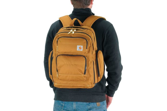 Carhartt Legacy Deluxe Work Backpack with 17-Inch Laptop Compartment