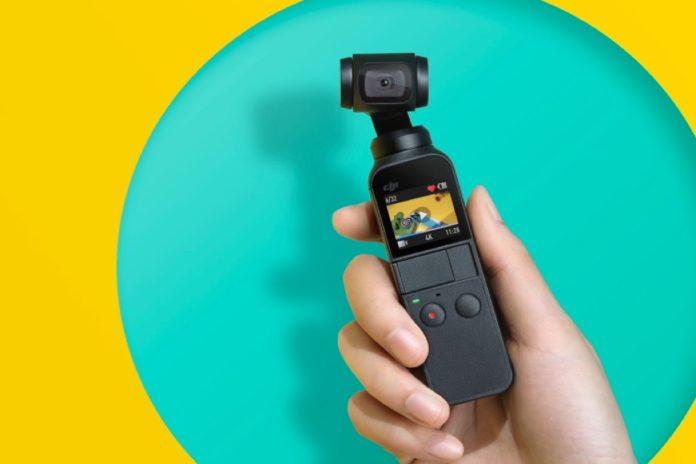 DJI Osmo Pocket - Handheld 3-Axis Gimbal