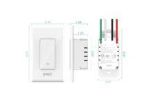 Gosund 2.4Ghz Wifi Light Switch