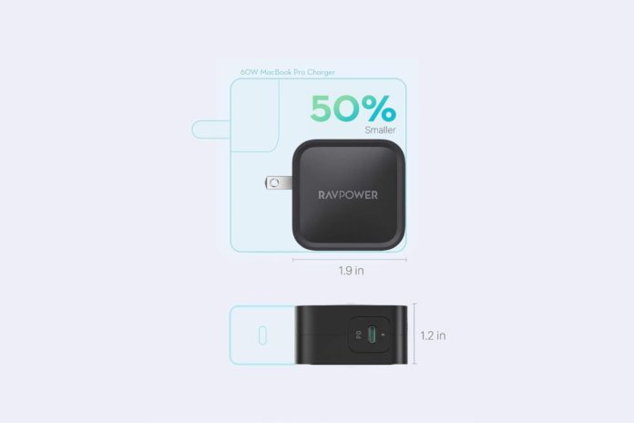 RAVPower 61W USB C Charger