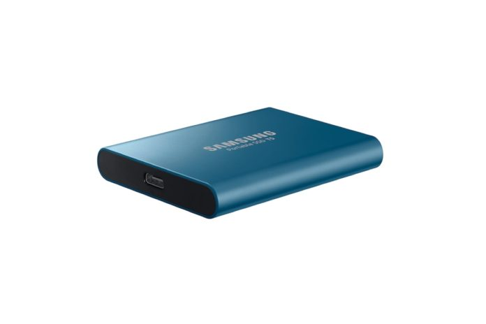 Samsung (MU-PA500B:AM)T5 Portable SSD - 500GB