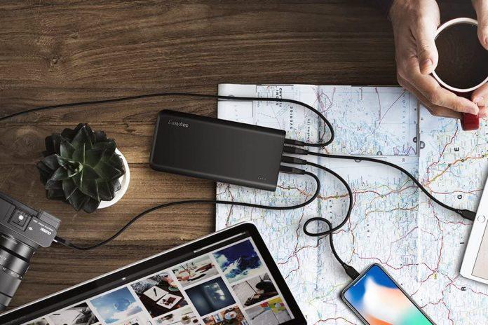 EasyAcc 20000mAh USB C Portable Charger-min