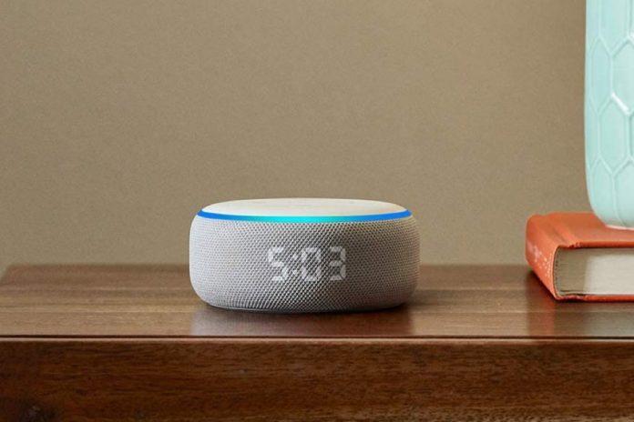 Echo Dot (3rd Gen) - Smart speaker with clock and Alexa