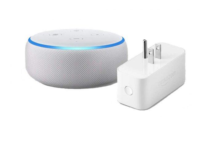 Echo Dot (3rd Gen) bundle with Amazon Smart Plug