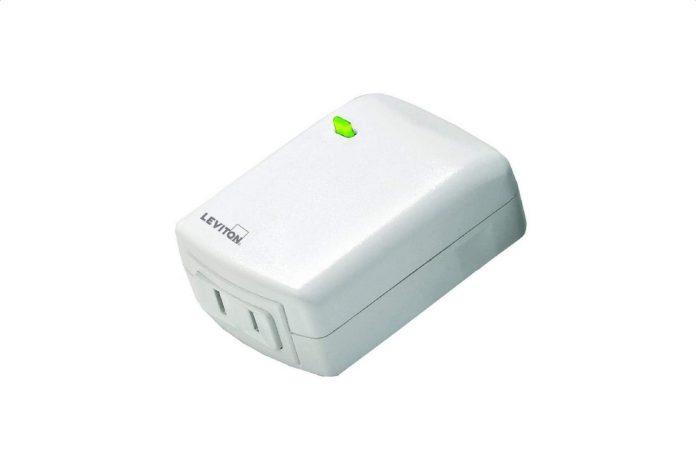 Leviton DW3HL-1BW Decora Smart Wi-Fi Plug