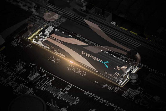 Sabrent 1TB Rocket NVMe 4.0 Gen4 PCIe M.2 Internal SSD-min