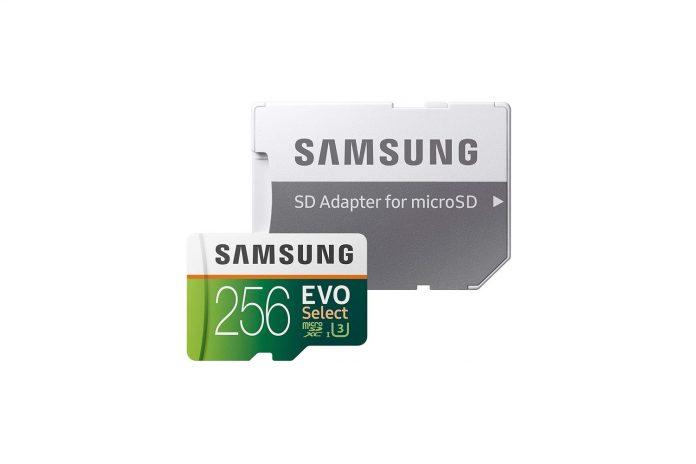 Samsung EVO Select 256GB microSD