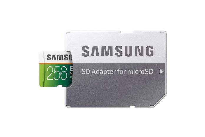 Samsung EVO Select 256GB microSDXC