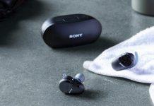 Sony WF-SP800N Truly Wireless Sports In-Ear Noise Canceling Headphones