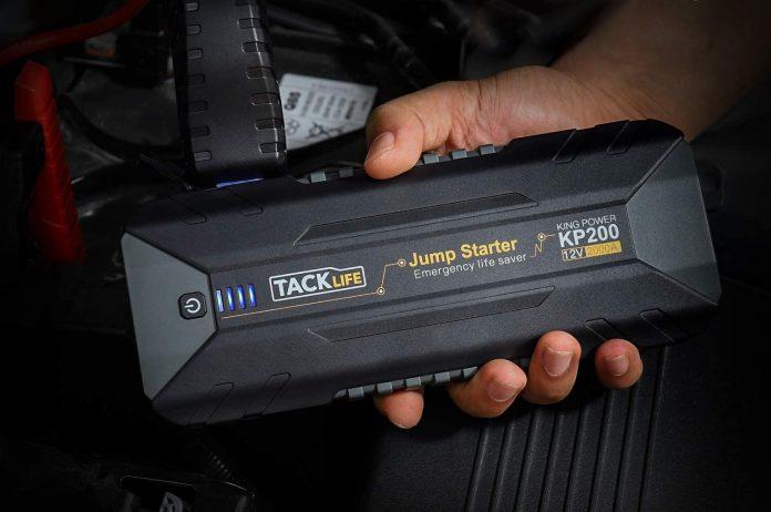 TACKLIFE 2000A Peak Car Jump Starter
