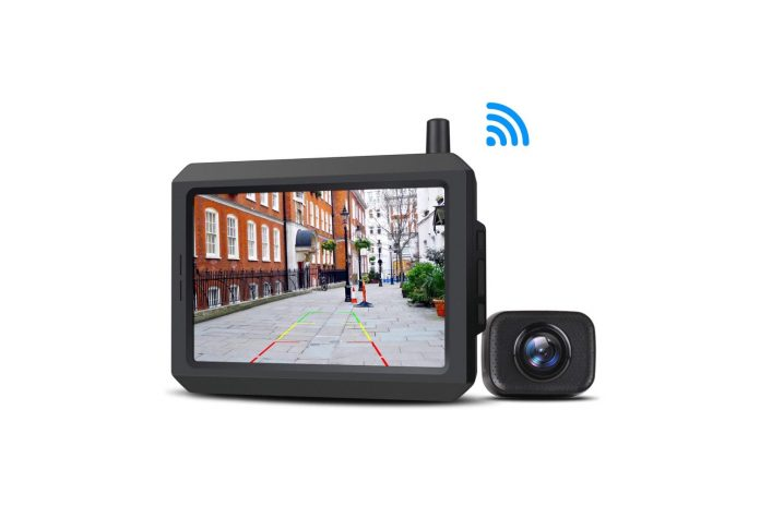 Wireless Backup Camera Kit with Digital Signal