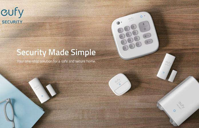 eufy Security 5-Piece Home Alarm Kit-min