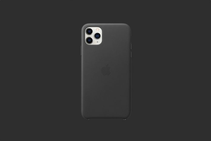 Apple Leather Case (for iPhone 11 Pro Max)
