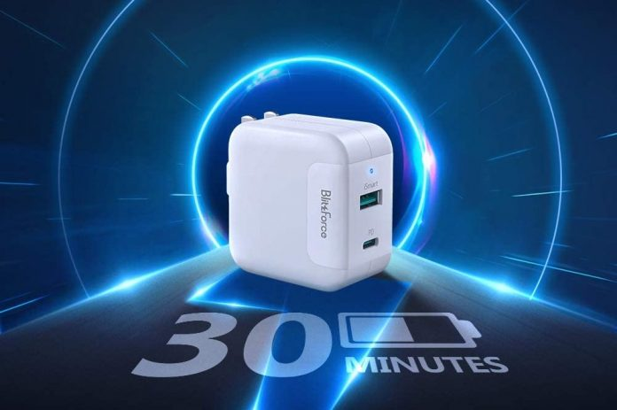 Blitzforce 65W 2-Port Wall Charger