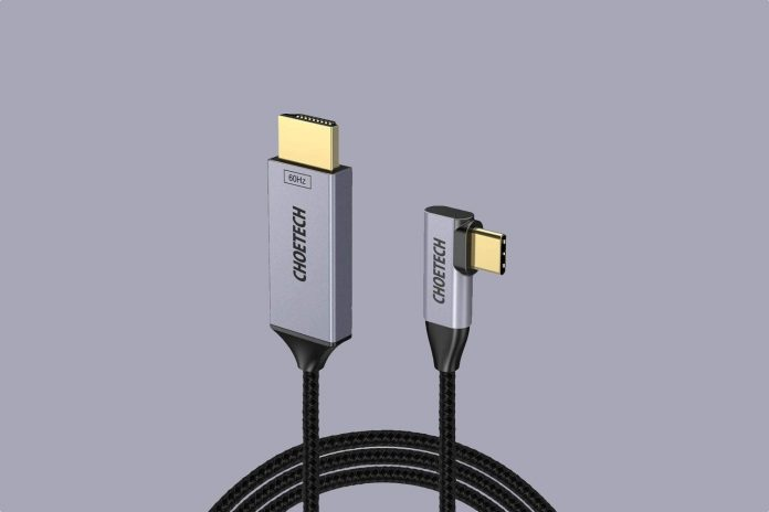 CHOETECH USB C to HDMI Cable(4K@60Hz)