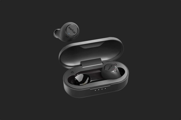 EarFun Free Bluetooth 5.0 Earbuds with Wireless Charging Case