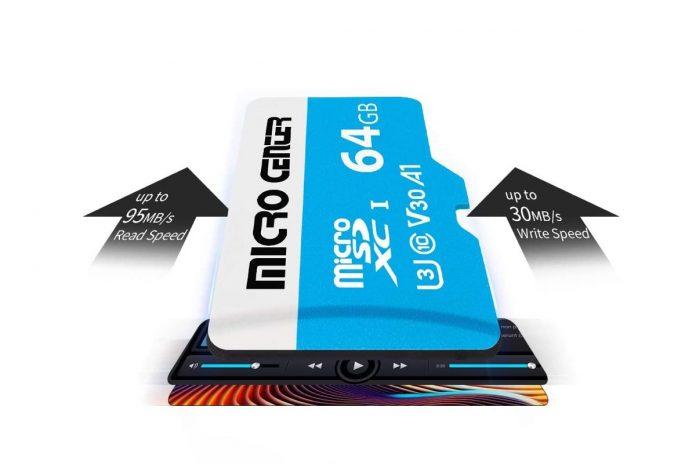 Micro Center Premium 64GB microSDXC Card
