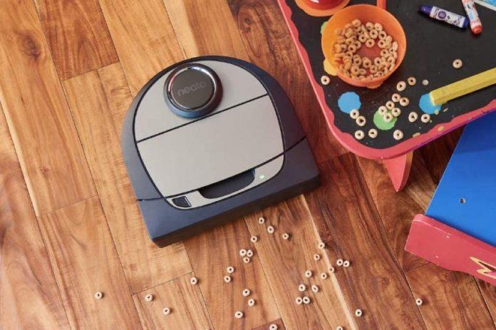 Neato Robotics D7 Connected Laser Guided Robot Vacuum