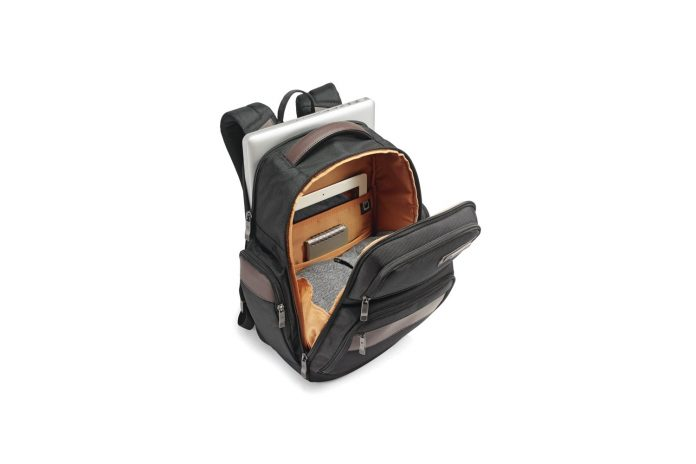 Amazon is giving the 4-square backpack Samsonite Kombi for a priceof $60. That's $20 off the usual rate and the best 2020 Amazon offers we've followed have been neck and neck. This bag contains high-end materials such as ballistic nylon and genuine leather. Its compartment of a 13-inch MacBooks padded laptop does not pose a problem. You will find organizational characteristics inside the front pocket that make it easy to carry everything from the key to an 11 inch iPad Pro. 4.3/5 stars ratings. Product Highlights: CONSTRUCTED of rugged ballistic nylon with genuine leather details PADDED LAPTOP compartment fits up to 13.3