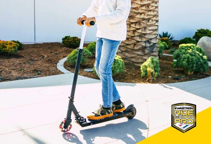 _Swagtron Glide SK3 Foldable Electric Scooter-min