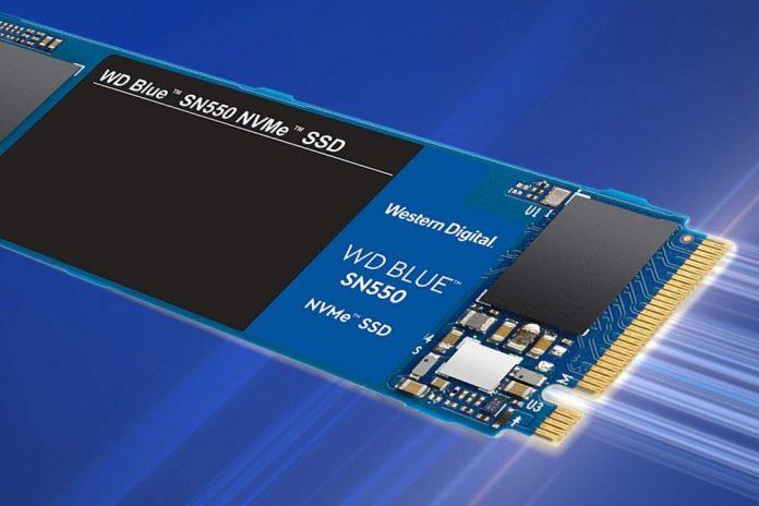 WD Blue SN550 500GB NVMe Internal SSD