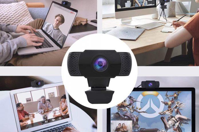 Wansview USB 2.0 Desktop Laptop Computer Web Camera