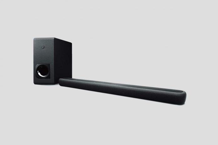 Yamaha Audio YAS-209BL Sound Bar with Wireless Subwoofer