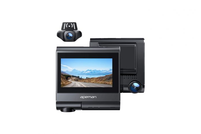 APEMAN Dual Dash Cam