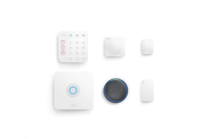 All-new Ring Alarm 5-piece kit (2nd Gen) with Echo Dot
