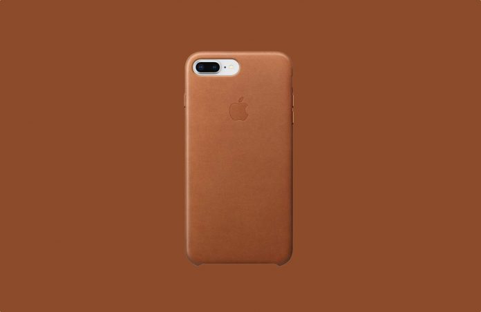 Apple Leather Case (for iPhone 8 Plus:iPhone 7 Plus)