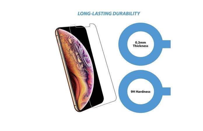 Beam Electronics Screen Protectors (4 Pack) for iPhone X, iPhone XS, iPhone 11 Pro