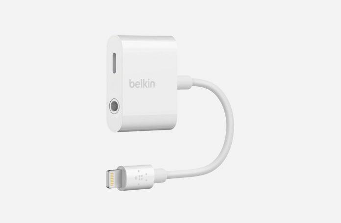 Belkin 3.5mm Audio + Charge RockStar Jack