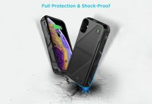 EasyAcc iPhone Xs:X Battery Charger Case Qi Wireless Charging Case
