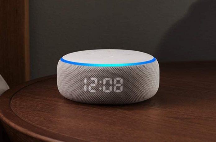 Echo Dot (3rd Gen) - Smart speaker with clock