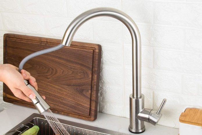 GAPPO Touch Kitchen Faucet with Pull Down Sprayer