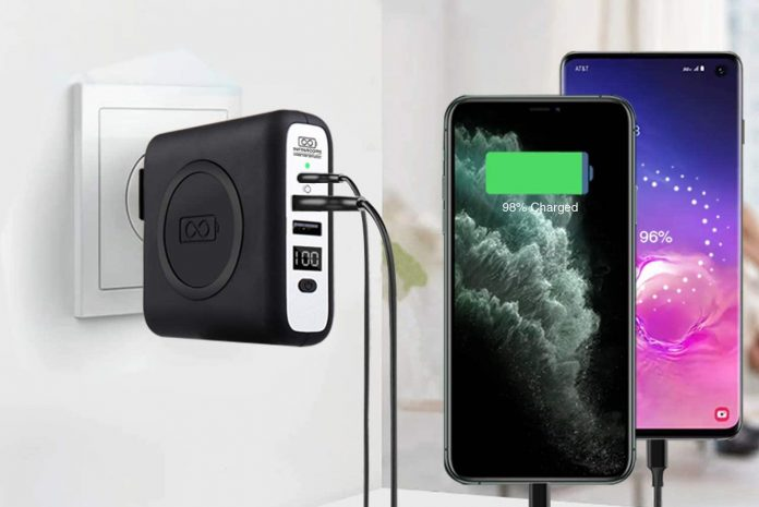 INFINACORE Pandora Portable Power (P3) 8000mAh Wireless Charger
