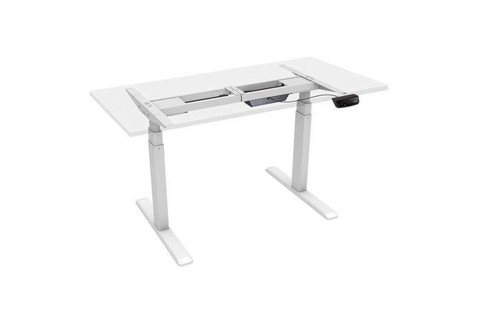 Monoprice Height Adjustable Sit-Stand Riser Table Desk Frame