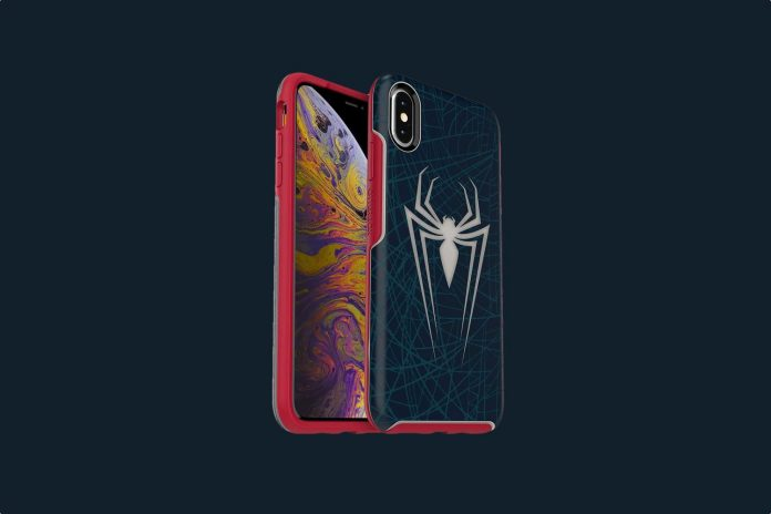 OtterBox Symmetry Series Disney Spider-Man Case for iPhone Xs Max