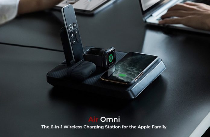PITAKA Air Omni 6-in-1 Multi-Functional Wireless Charging Station