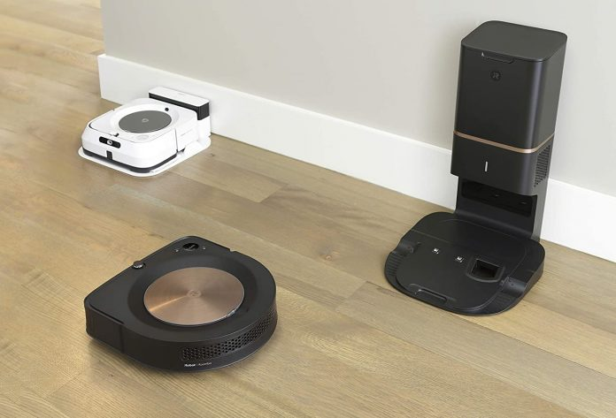 Robot Roomba s9+ (9550) Robot Vacuum with Automatic Dirt Disposal-min