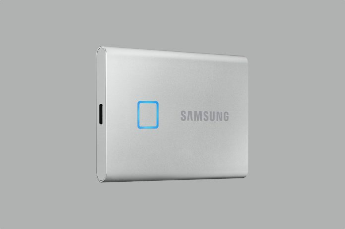 SAMSUNG T7 Touch Portable SSD 2TB
