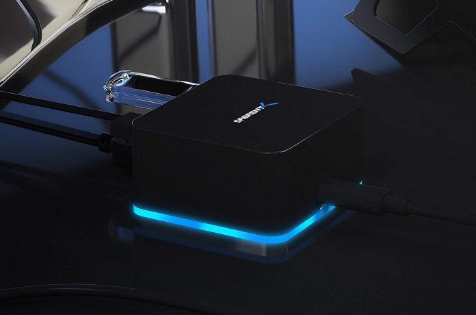 Sabrent 5 Port USB Type C Mini Continuum Docking Station