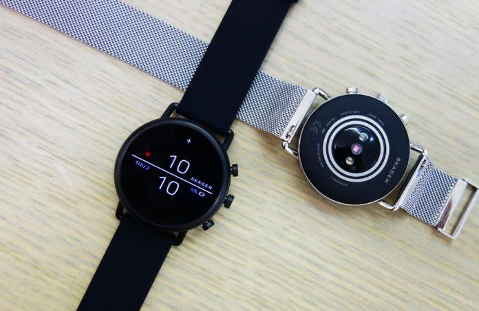 Skagen Connected Falster 2 Stainless Steel Touchscreen Smartwatch