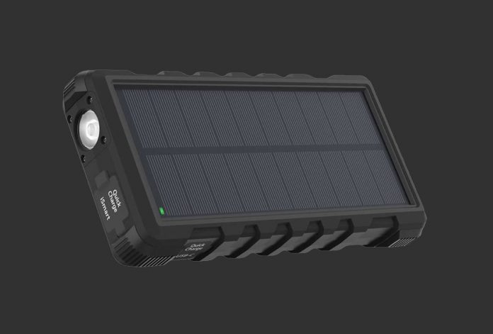 Solar Phone Charger RAVPower 25000mAh Outdoor Portable Charger