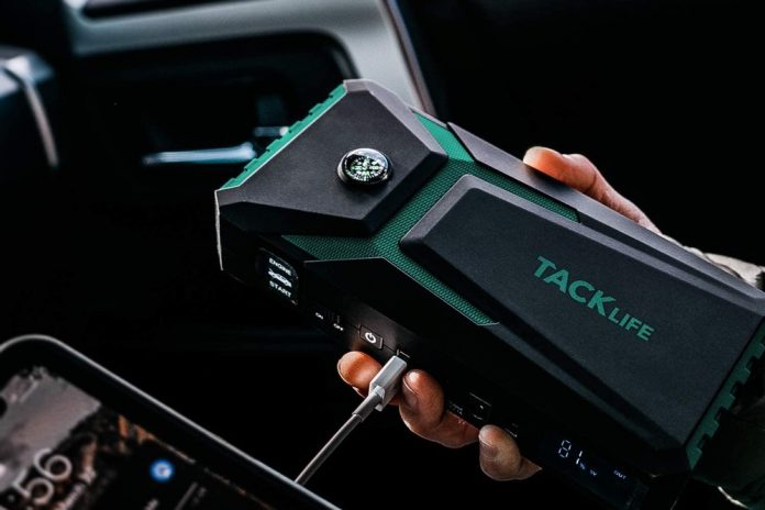 TACKLIFE T8-Newer Model 800A Peak 18000mAh Car Jump Starter