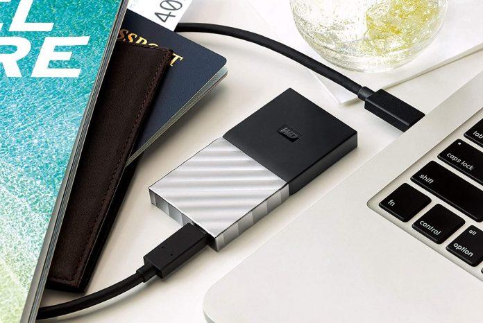 WD 512GB My Passport SSD Portable Storage-min