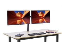 AmazonBasics Dual Monitor Stand