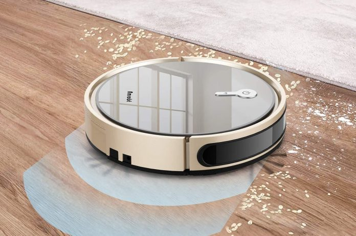 Amrobt Robotic Vacuum Cleaner with Wi-Fi Connectivity-min