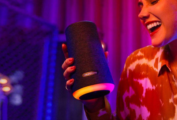 Anker Soundcore Flare S+ Portable Bluetooth Speaker